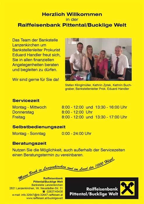 BVB Baumaschinen GmbH - Marktgemeinde Lanzenkirchen